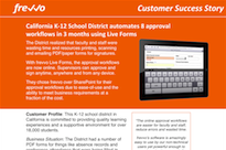 California K-12 Case Study