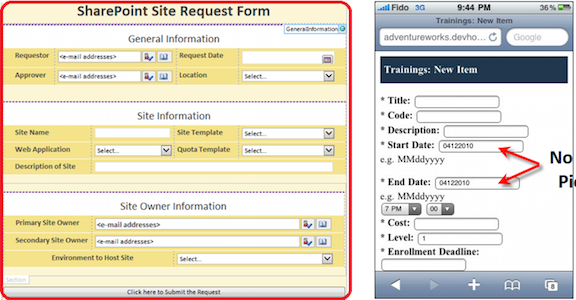 microsoft infopath form templates - infopath replacement sharepoint alternative