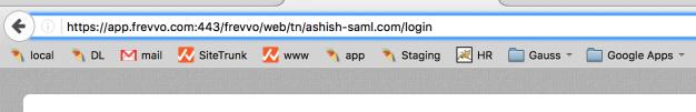 1. Tenant Login URL